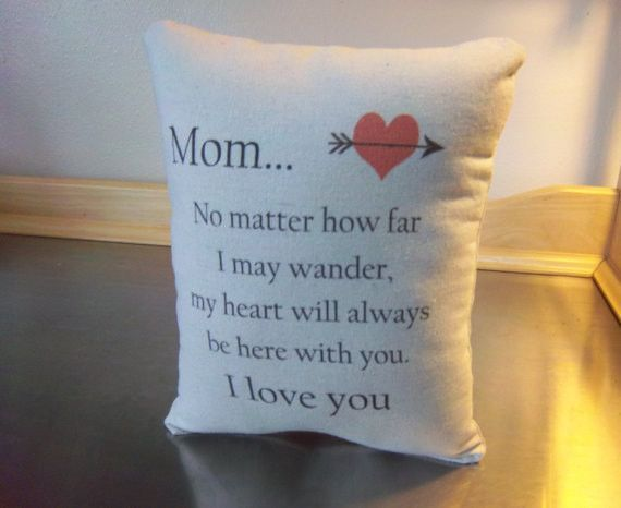 mom gift pillow cotton throw pillow from son popular gift bedroom home decor - Popular Throw Pillows