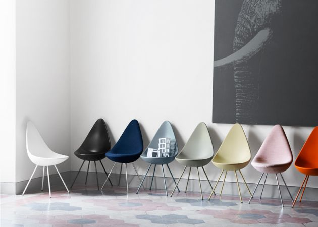 Drop chair by Jacobsen