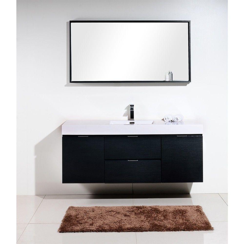 Kubebath Bliss 59 Inch Single Sink Bathroom Vanity By Kube Bath