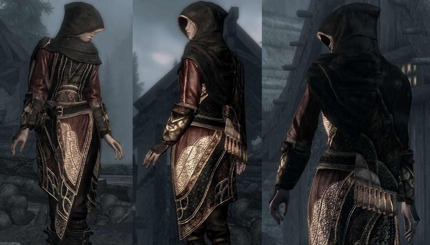 Dreamburrow's regal assasin armour mod  I like my skyrim