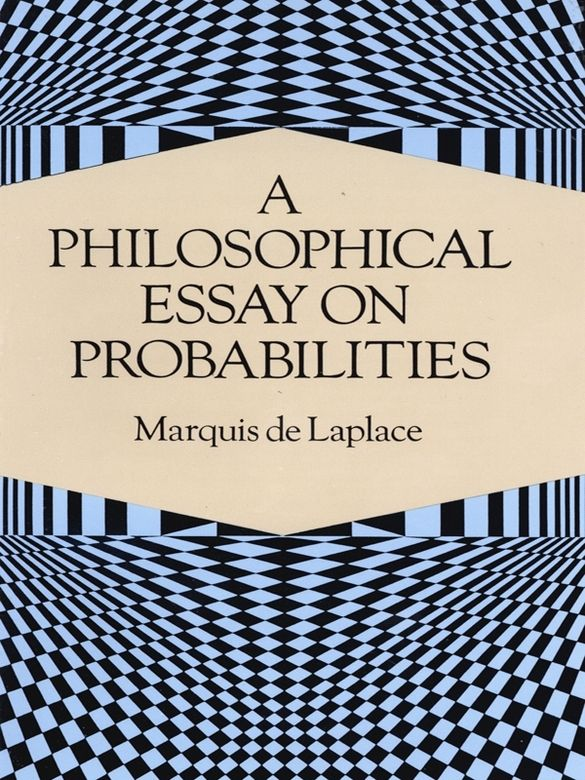 A Philosophical Essay On Probabilities Biologie Science