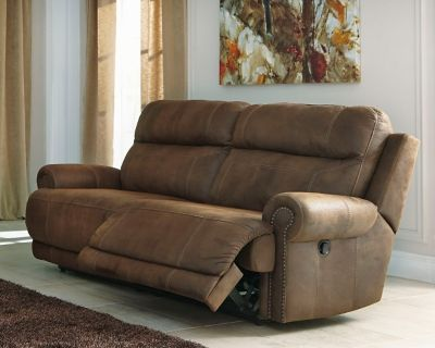 Austere Reclining Sofa By Ashley Homestore Brown Ashley