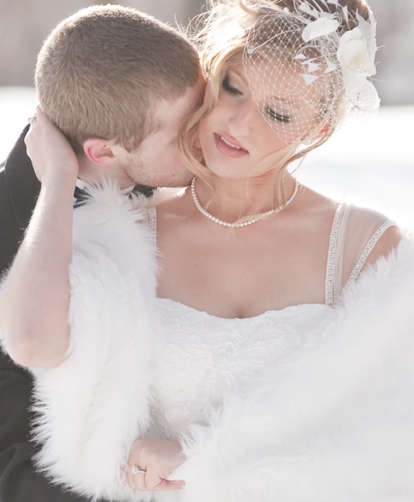 These Two Had The Most Amazing Winter Wedding! Watch Tara