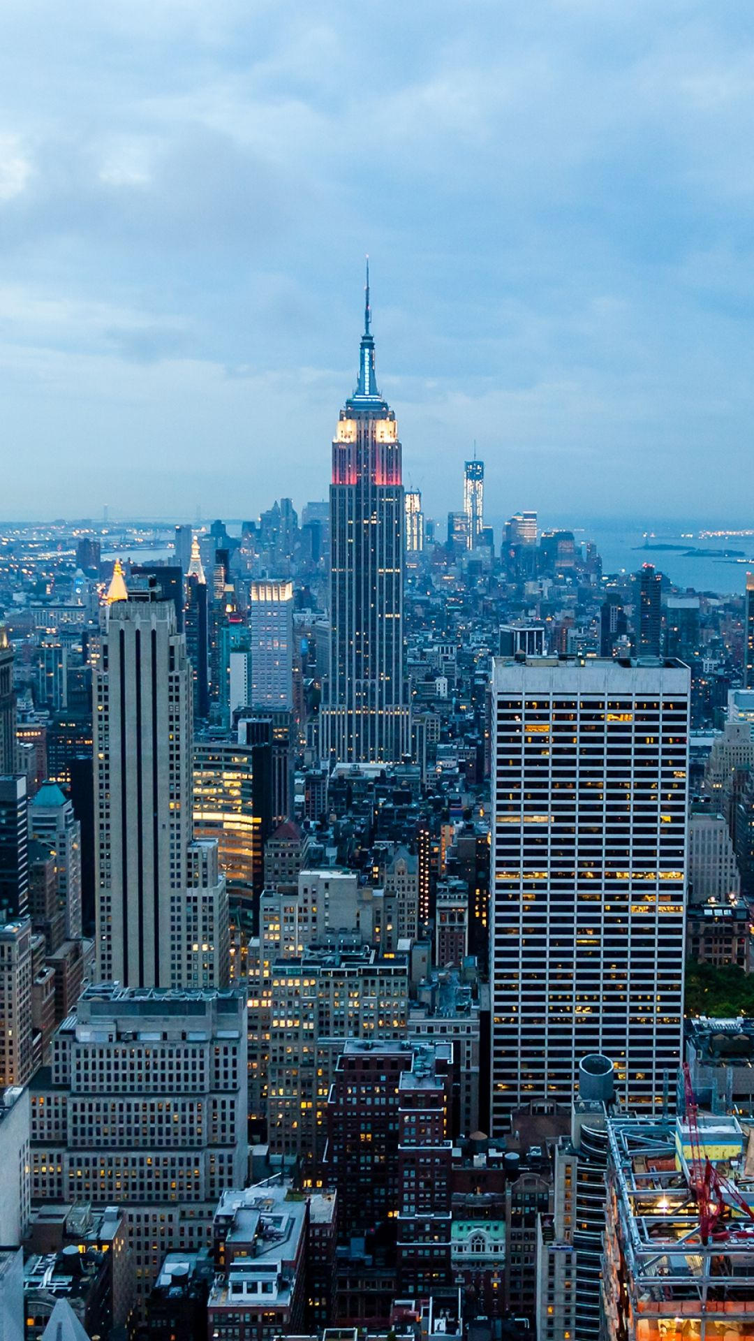 1080x1920 wallpaper new york buildings skyscrapers - Skyscraper wallpaper ...