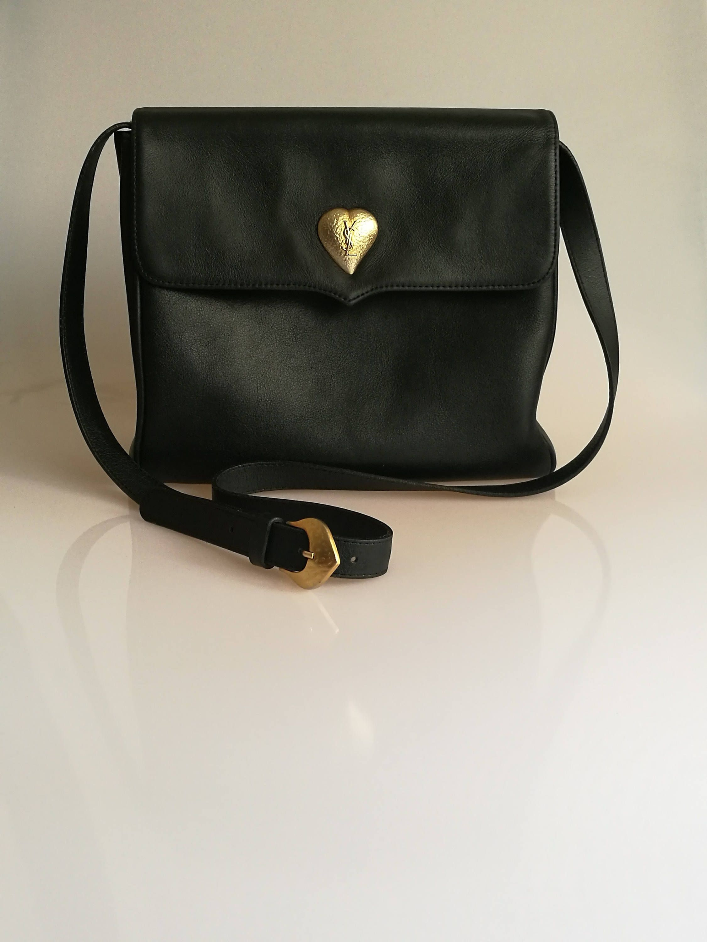 Your Place To Buy And Sell All Things Handmade Black Shoulder Bag Yves Saint Laurent Vintage Bags