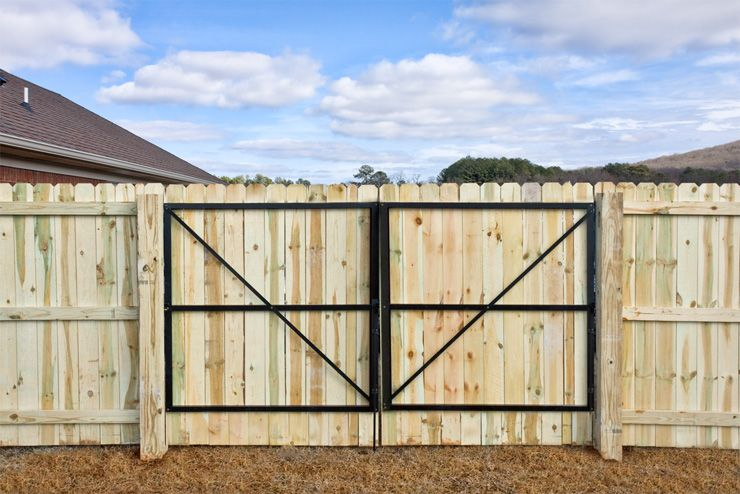 Double Dura Gate Heavy Duty Hd Gate Frame Kit Black Duragate Wood Gates Driveway Wood Fence Gates Fence Gate