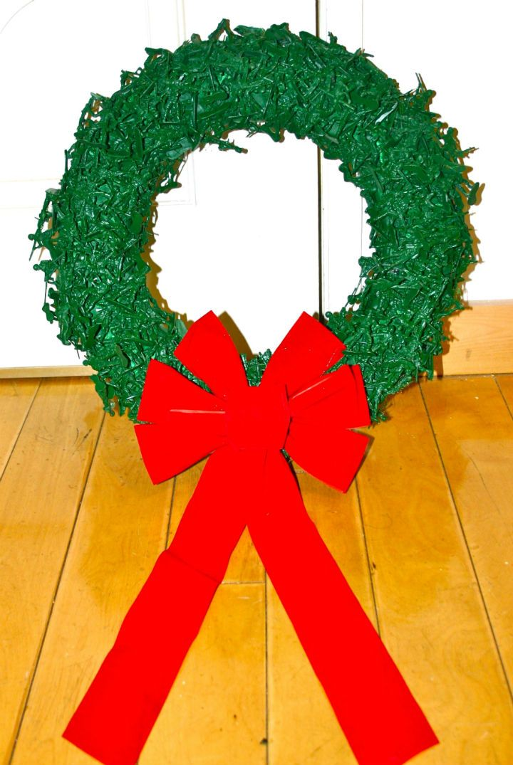 Toy Army Men Christmas Wreath My Boys Would Love This Wreath