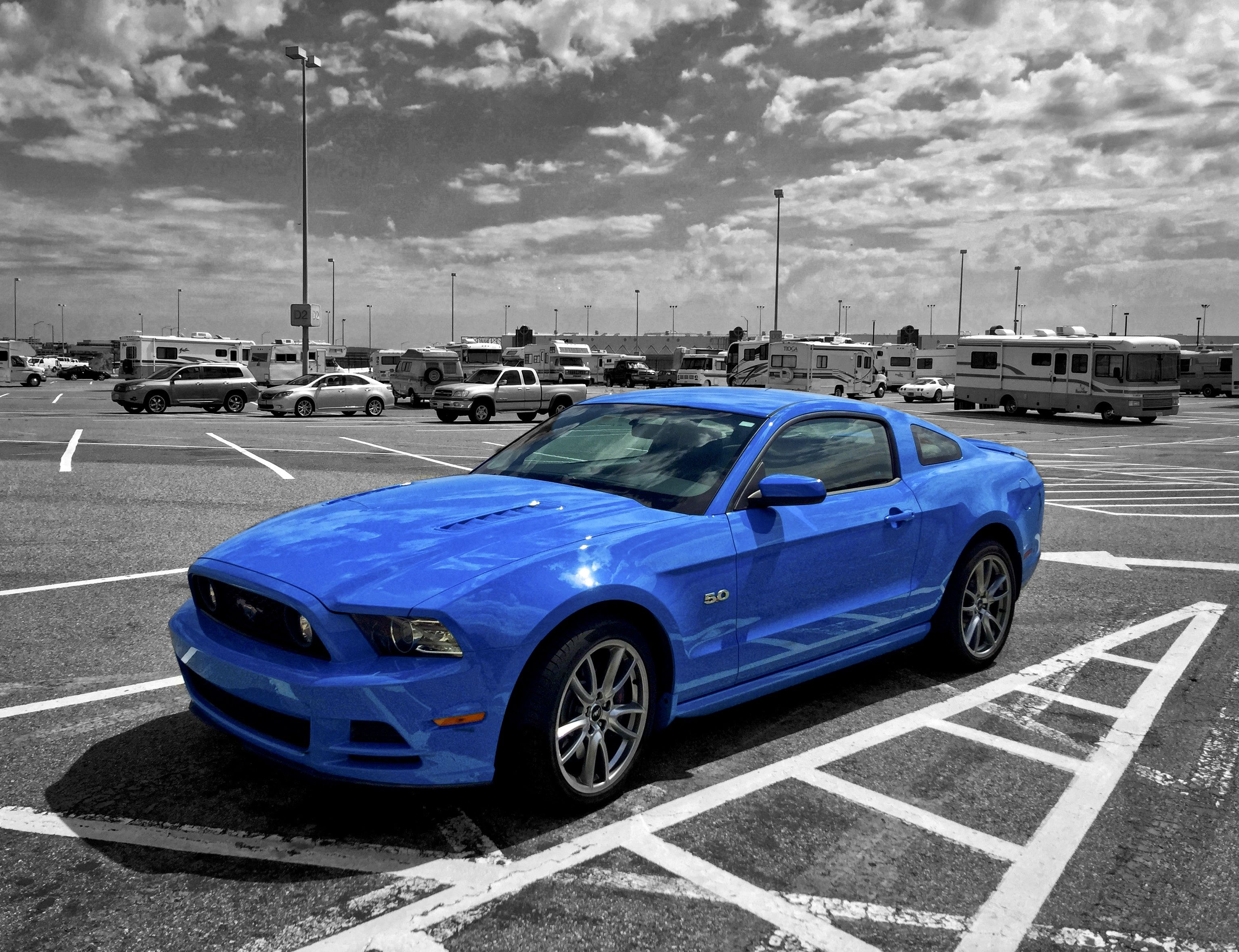 Grabber Blue Ford Mustang 2015 Ford Mustang Blue Mustang 2015 Ford Mustang
