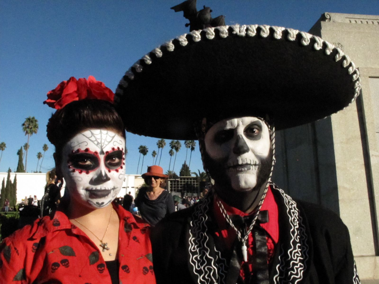 best images about dia de los muertos angel images for > dia de los muertos makeup couples