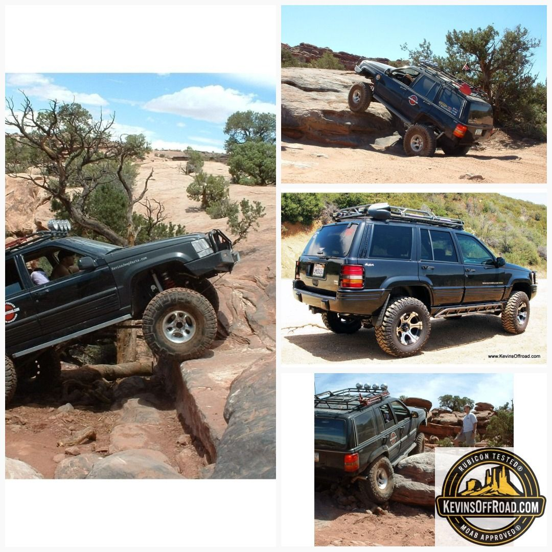 Jeep Grand Cherokee ZJ Roof Rack Safari Style Jeep