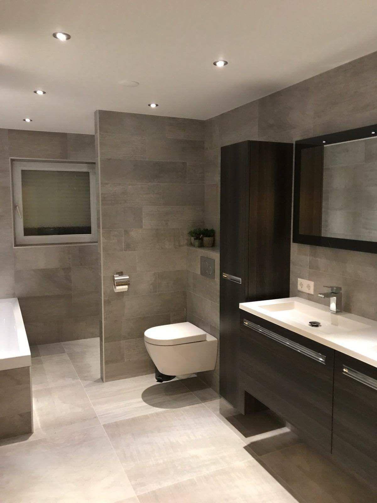 Badkamer strak en toch warm | Stobastone | Pinterest - Badkamer en ...