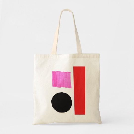 Download Modern Minimalist Art Collage Colorful Abstract Tote Bag Zazzle Com In 2020 Minimalist Tote Bag Canvas Bag Design Painted Tote