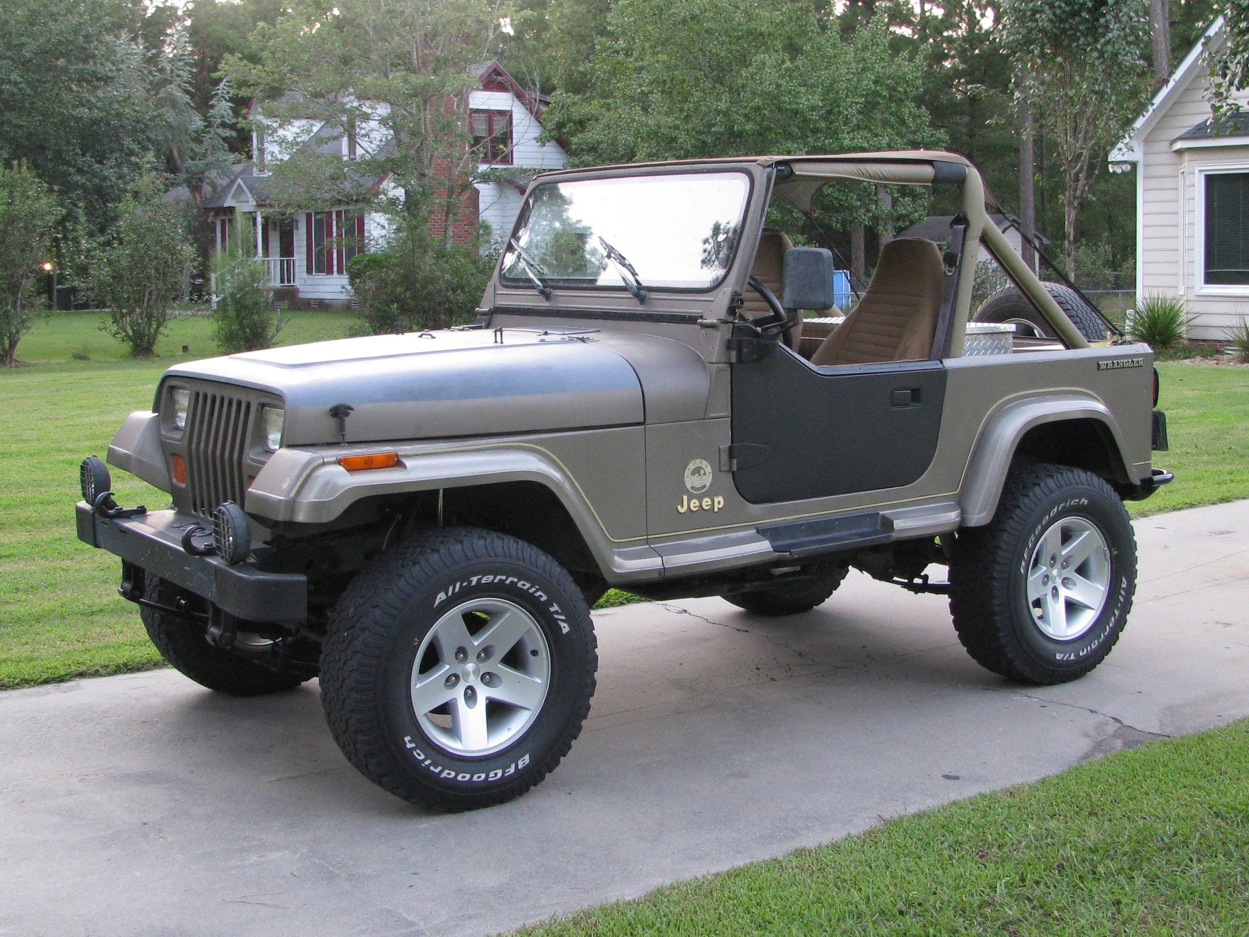 Jeep Yj Rubicon Express 2 5 Standard Suspension Installation Part 2 Re Jeep Coches Y Motocicletas Coches