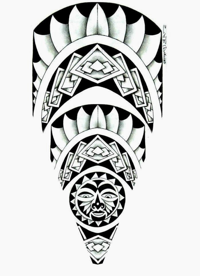 Tattoo Maori E Tribal So As Top Mlk Desenhos Maori Desenhos De