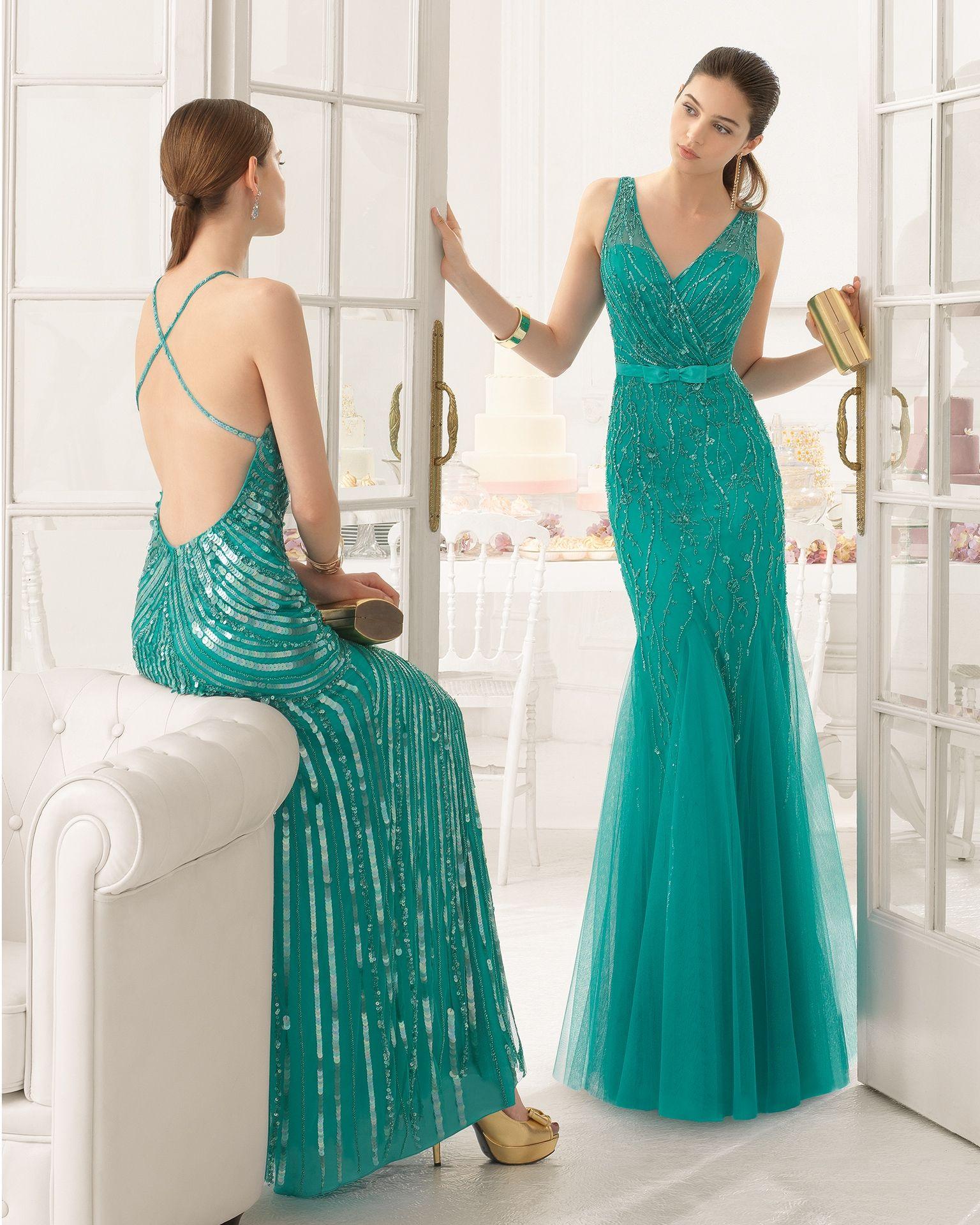 Elegancia | bautizo | Pinterest | Vestidos de fiesta largos, Aire ...