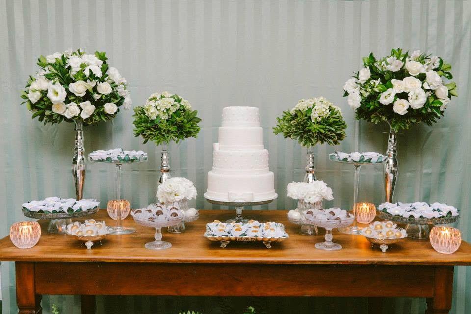 Mini Wedding Decoração Simples 7