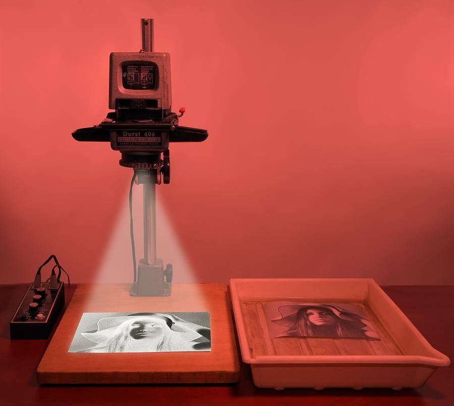 Darkroom Photograph Enlarger by Science Photo Library #photolibrary