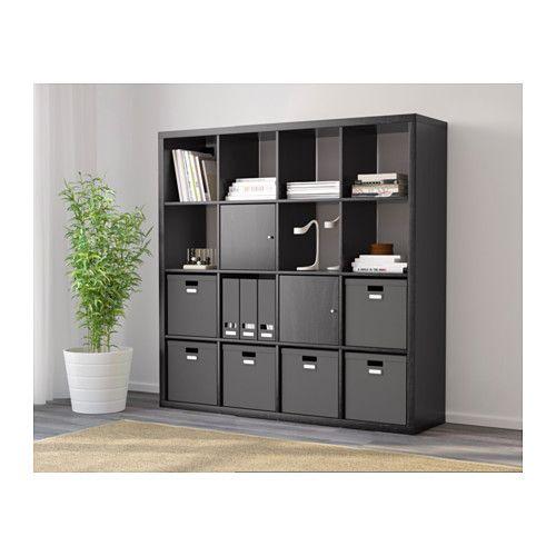 Ikea Expedit Boekenkast Zwart Bruin.Kallax Open Kast Zwartbruin In 2019 Apartment Inspiration