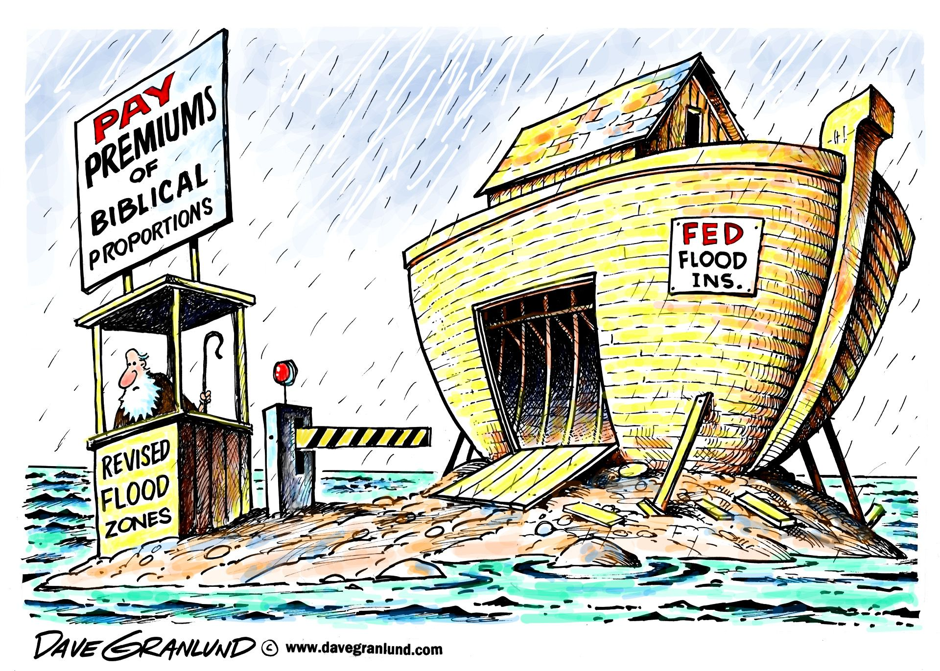 Dave Granlund On Federal Flood Insurance Rates