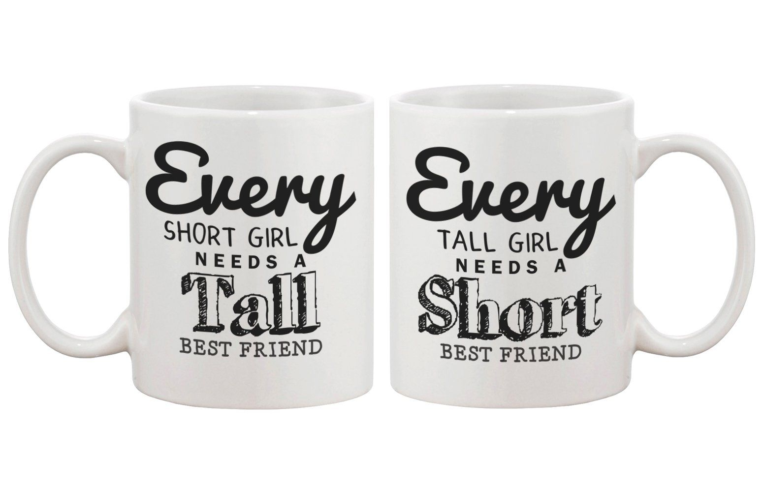 Cute Coffee Mugs For Best Friends Every Short Girl Needs