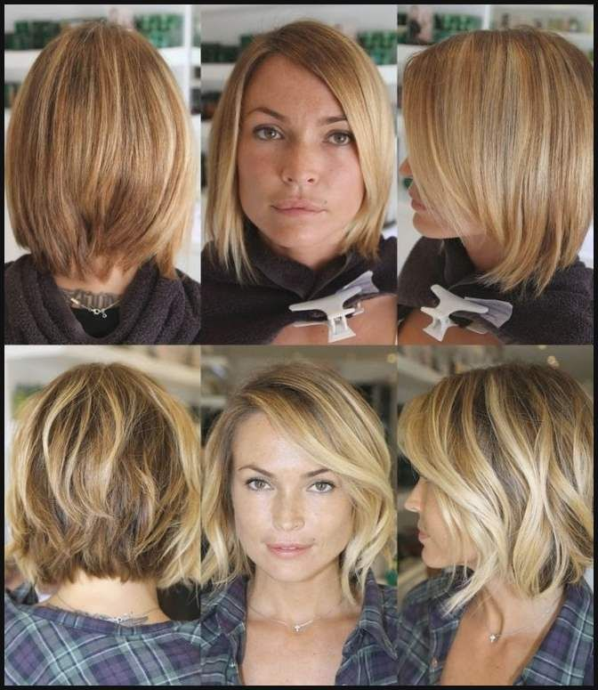 Bob Frisuren Dunnes Haar 2018 Neu Vorher Nachher Frisuren Bob Einfache Frisuren Hair Looks Best Hair Stylist Short Hair Styles