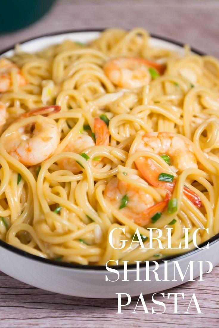 SHRIMP PASTA recipes #easyshrimprecipes