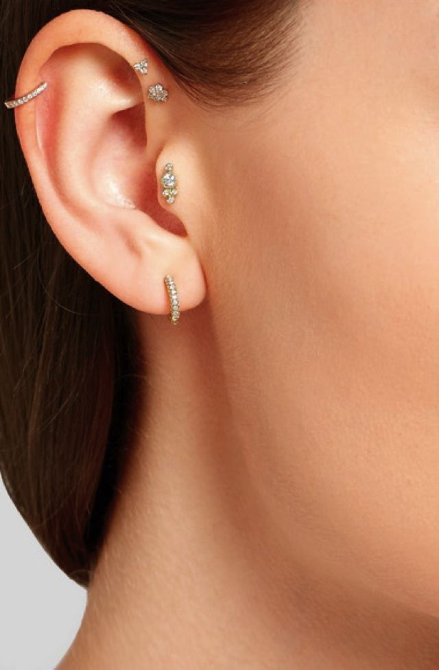 a57ce36af1dc0 Jewelry tiny hoop earrings to fall in love | Piercings/Jewelry ...