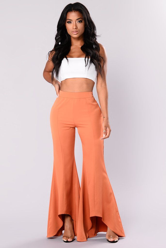 e6df3c084bd2 Bellisima Flare Pants - Amber | My style | Flare pants, Pants, Bell ...