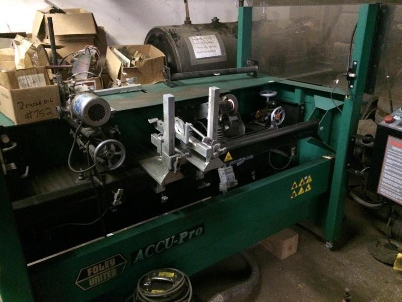 2002 Foley Accu Pro 630 Reel Grinder For Sale Foley Grinder Used Equipment