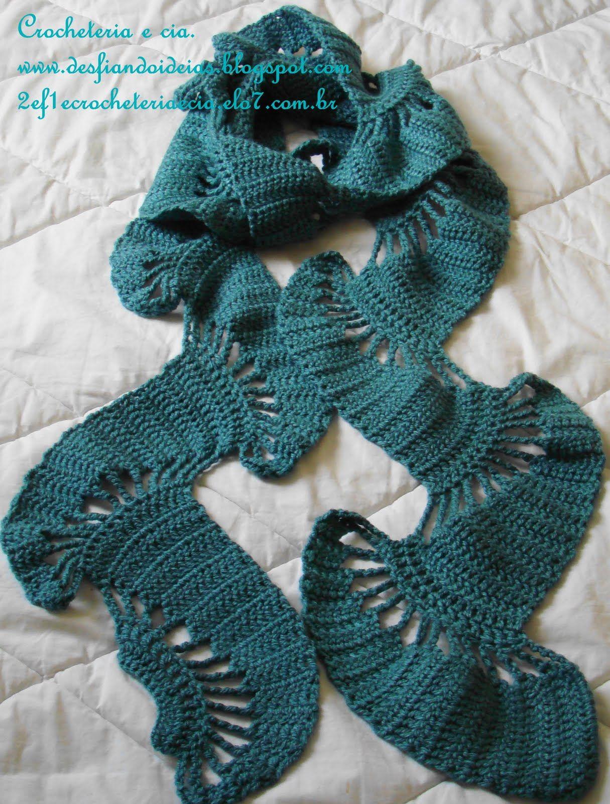 unusual scarf   Crochet   Pinterest   Crochet scarfs ...