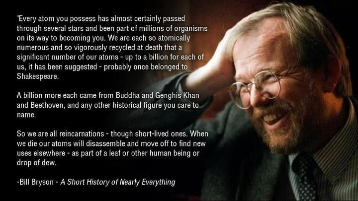 Bill Bryson's A Short History of Nearly Everything -