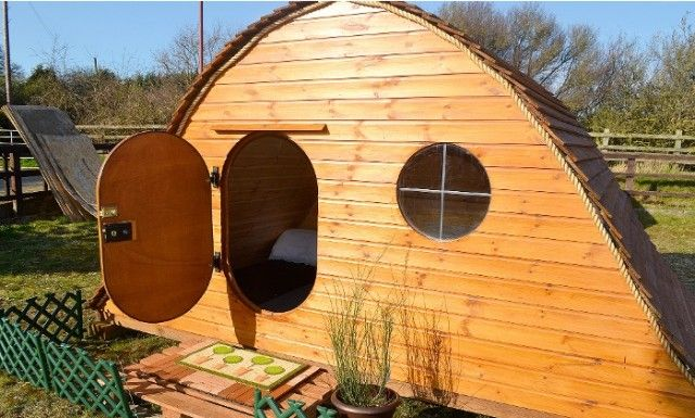 1 Night Glamping At Castley Camp Pods With Hot Tub Sauna Gym And Bbq Equipment For Only 9 75 Per Person Bbq Equipment Camping Pod Hot Tubs Saunas