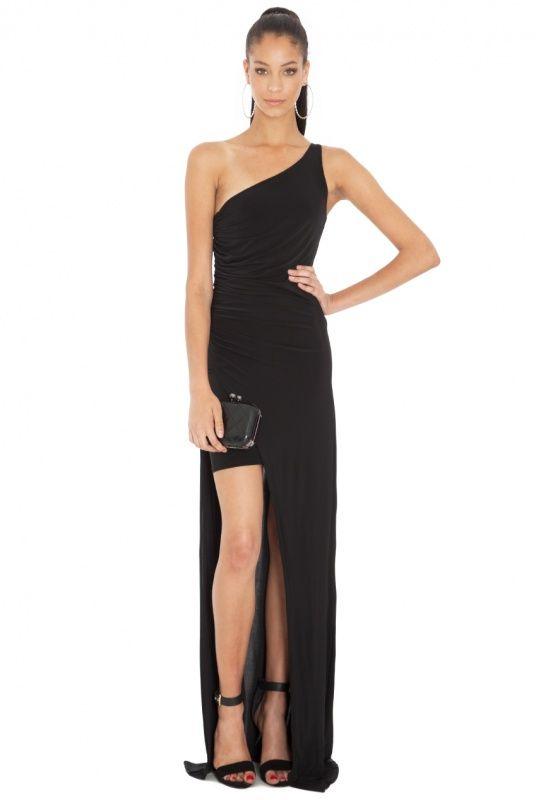 lange jurken met split