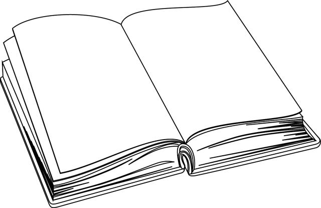 Dessin A Imprimer Un Livre Dessin Livre Ouvert Livre