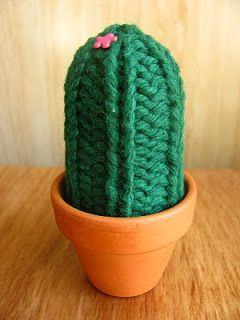 Knitting Patterns Galore - Knit Cactus