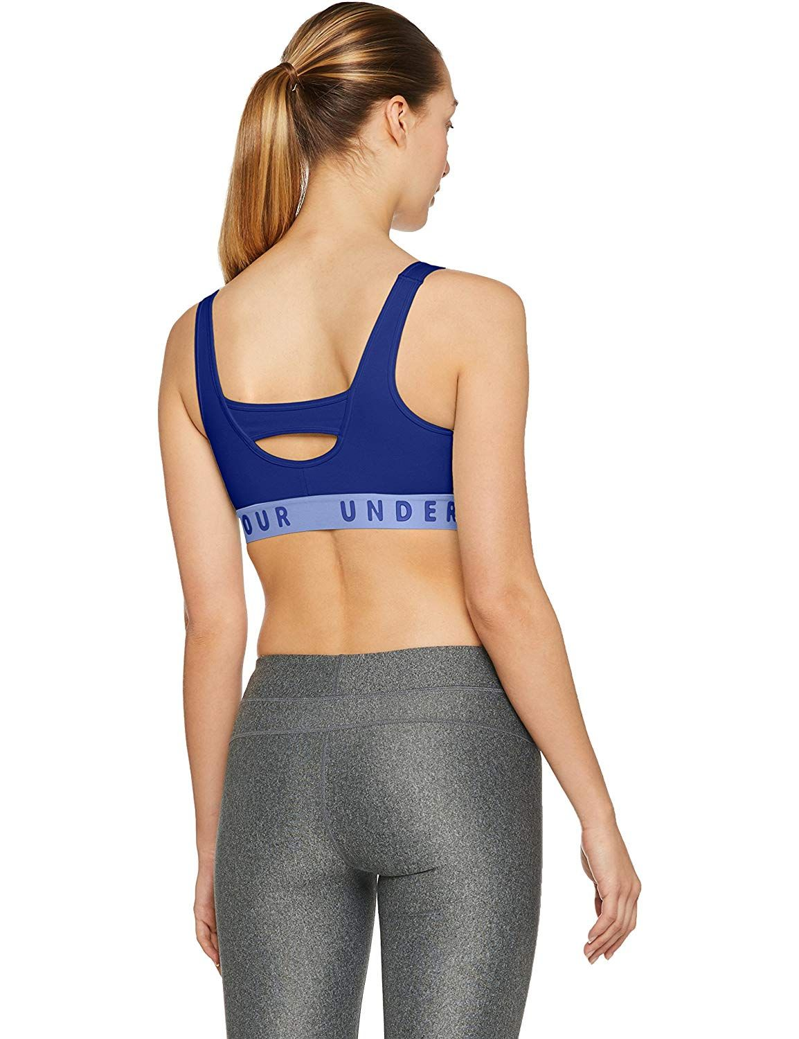 4ebb0a0b367a3 Amazon.com  Under Armour Women s Favorite Cotton Heathered Everyday Sports  Bra  Under Armour  Sports   Outdoors