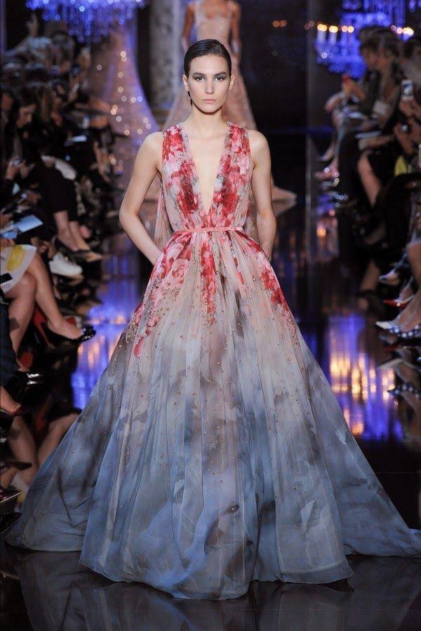 Paris Fashion Week: Elie Saab, Haute Couture, outono/inverno, 2014-2015