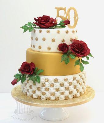 Torte Zur Goldenen Hochzeit Nix Mit Schlicht Torten In 2019