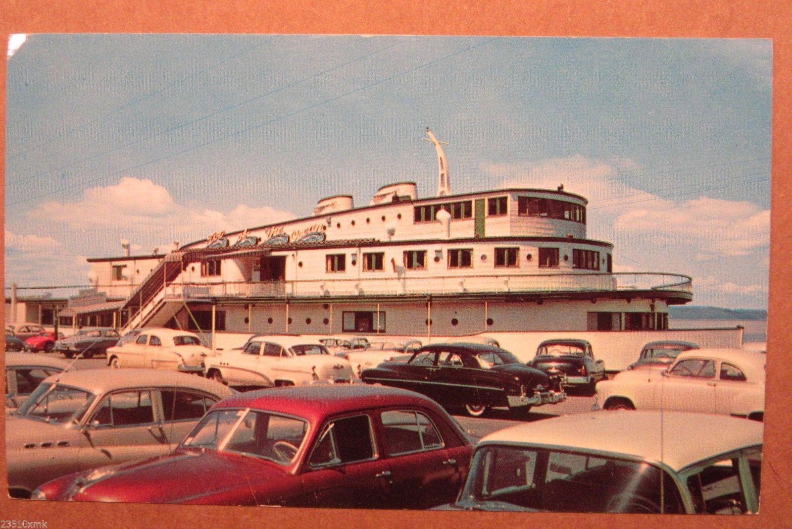 Top Of The Ocean Restaurant Tacoma Wa Circa 1950