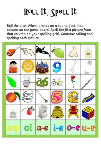 Phonics Read Write Inc Set 3 - Roll It Spell It | Phonics ...