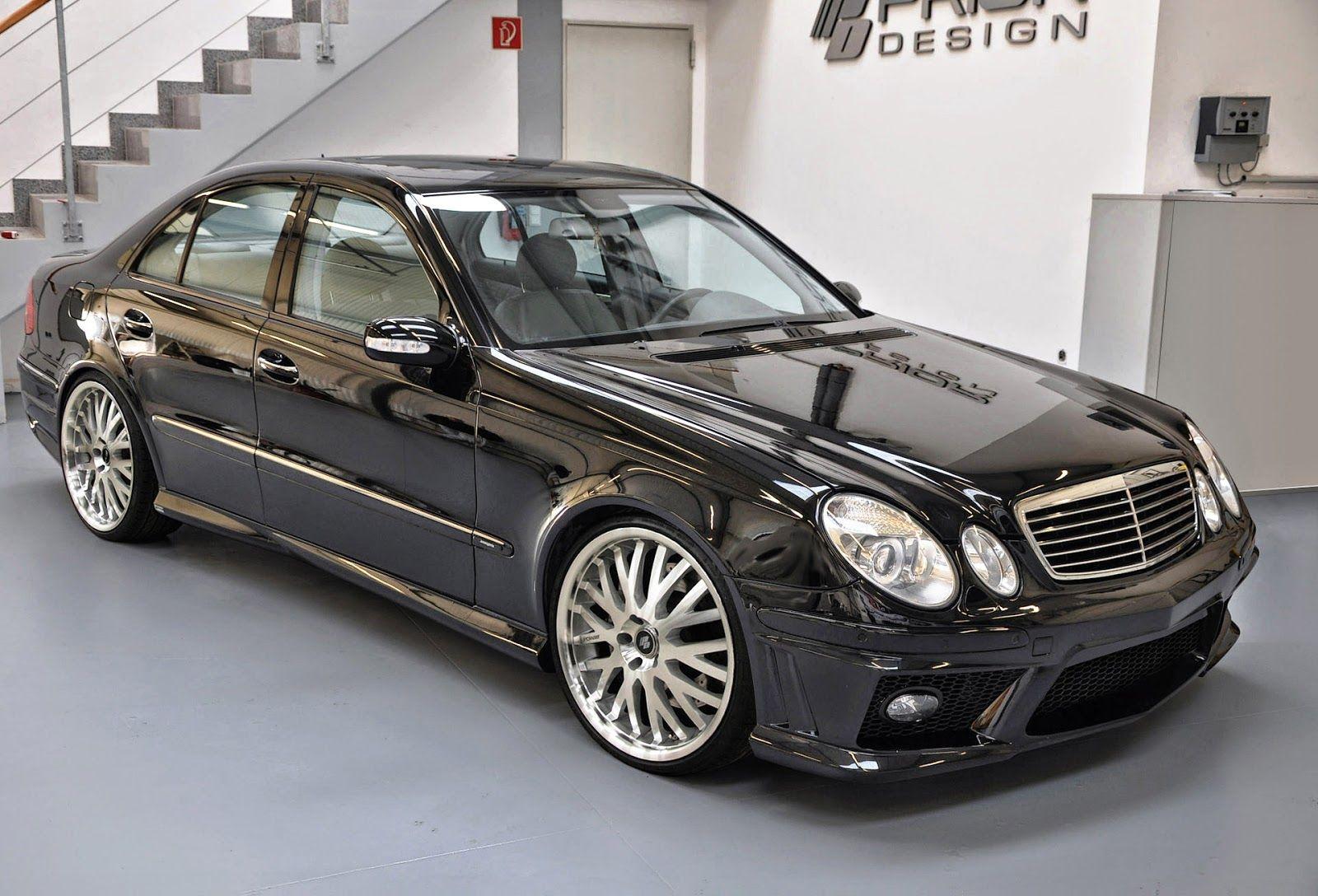 Mercedes Benz E Klasse W211 Prior Design Body Kit Benz E Benz