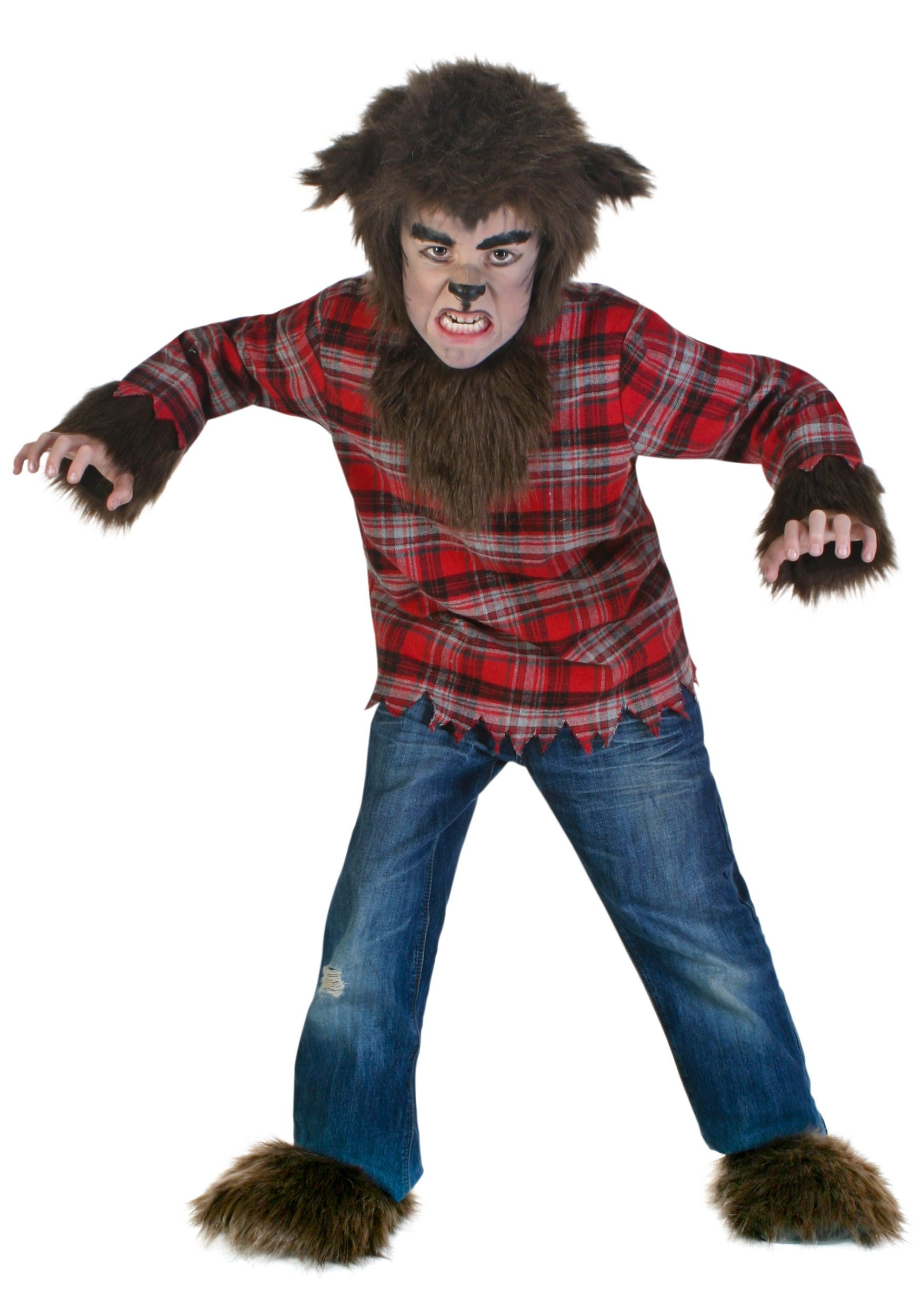 kids fierce werewolf costume - Wolf Halloween Costume Kids
