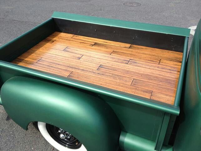 Custom Wood Bed 55 Chevy Truck Ideas Truck Bed Trailer