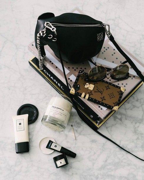 Bag: tumblr black sunglasses louis vuitton candle book