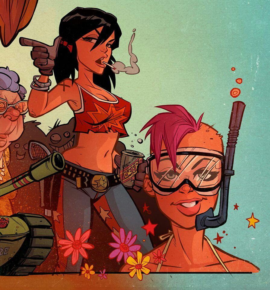 Comics, Art & Illustrations