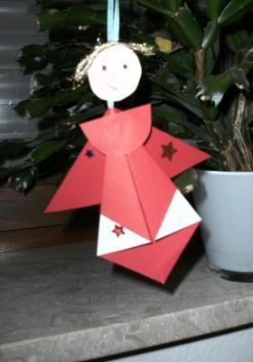 Christbaumschmuck Basteln Weihnachtsengel Angels 2 Pinterest