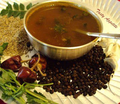 Tasty Appetite: Pepper Rasam