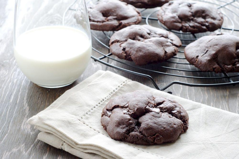 Double-Chocolate Cookies