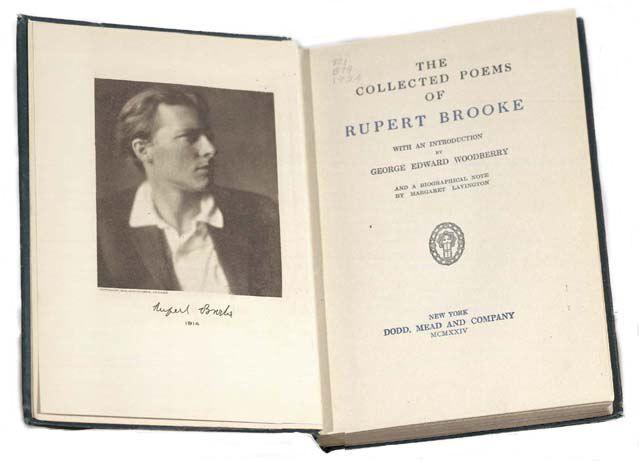Rupert Brooke Rupert Brooke Collection Of Poems Poems