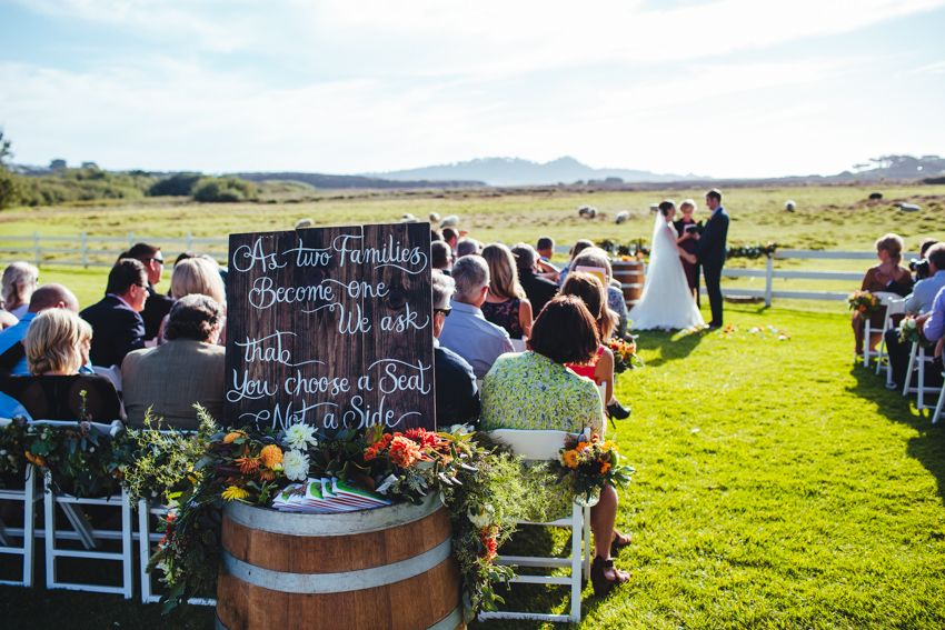 Carmel Wedding By The Sea Photographer Mission Ranch Day Signs